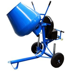 Crommelins Cement Mixer 3.5 Cu Electric Power Side Tip