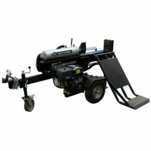 New 50 TON LOG SPLITTER w HEAVY DUTY HYDRAULIC LIFTING TABLE Wood Cutter Axe