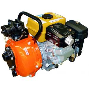 Fire Fighting Pump Honda GX200 Petrol Powered or Crommelins 6.0 HP Robin Engine 1.5 inches