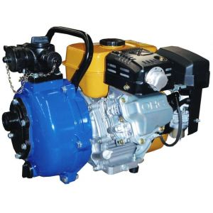 "Fire Fighting Pump 1.5"" Twin Impeller powered by Honda GX200 Petrol OR 6.0 Hp Robin Engine Crommelins FT150RPT"