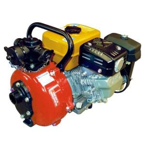 Crommelins Fire Fighting Pump 7 HP Petrol Engine FF150RP7 Recoil or Electric Start