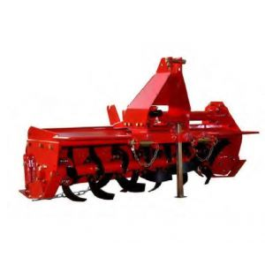 Tractor Rotary Hoe Tiller 4.5 FT 1300 MM Garden Cultivator with Chain Drive