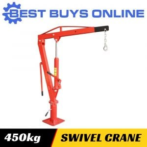 HYDRAULIC UTE LIFTING CRANE Swivel Base 450 KG