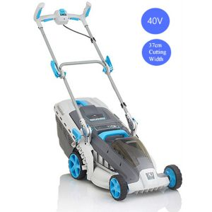 Lawn Mower Cordless Electric Lawnmower Hand Push Mower 40V with Lithium Battery