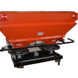 Twin Spindle Spreader Fertiliser Granular Fertilizer 1000 L Capacity 70 hp + 3 PL