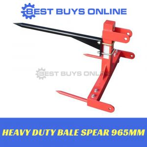 BALE SPEAR HEAVY DUTY Hay Spike 675kg 3 POINT LINKAGE Suit Tractors +25HP