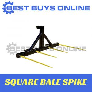 BALE SPEAR SQUARE HAY SPIKE 3 POINT LINKAGE 1500 kg SUIT TRACTORS OVER 25HP