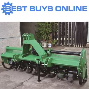 Tractor Rotary Hoe Tiller 2.1m Working Width Heavy Duty suit 80 HP Tractor 3PL