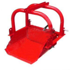 "DIRT SCOOP BUCKET SUIT TRACTOR 20-40HP 24"" 9 CUFT 3 Point Linkage"