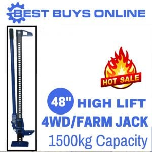 "High Lift Jack 48"" Car Farm Lifting Heavy Duty 4 WD 4 x 4 Offroad Recovery Vehicle"