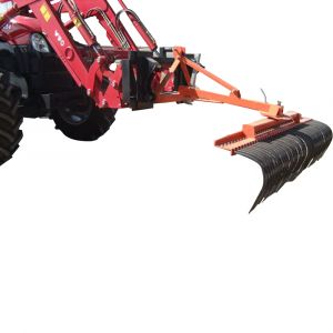 "New LANDSCAPE STICK RAKE (120CM) HEAVY DUTY suit TRACTOR 3 POINT LINKAGE (3PL) ""Best Buys on sale"""