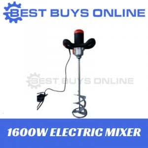 1600W HAND HELD ELECTRIC CEMENT MIXER STIRRER Paint Acrylic Glue Paster Render