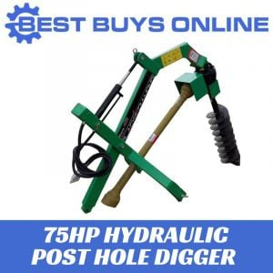 Tractor Post Hole Digger Heavy Duty suit Tractor 75-100 HP Hydraulic Auger 6-24""