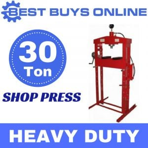 HYDRAULIC SHOP PRESS 30 TON Heavy Duty Steel Double Pump for QUICK LIFTING Jack