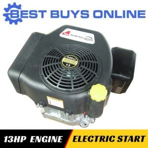13 HP VERTICAL SHAFT PETROL ENGINE ELECTRIC START Replace Ride-on Mower Motor