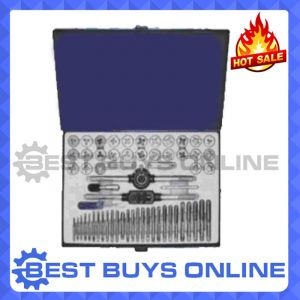 Tap & Die Set 60 pieces Quality alloy metric & SAE