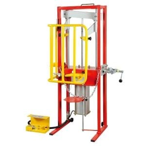 Strut Spring Compressor 1000kg air operated with guard | Best Buys Online