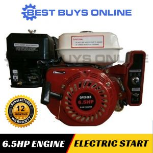 6.5 HP PETROL ENGINE ELECTRIC START MOTOR HORIZONTAL SHAFT OHV Stationary