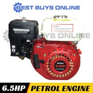 6.5 HP PETROL ENGINE Horizontal Shaft OHV Motor for Log Splitter Wood Chipper Saw