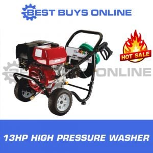 High Pressure Washer 13HP Petrol Best Buys on sale