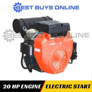 20 HP PETROL ENGINE ELECTRIC START OHV Stationary Motor