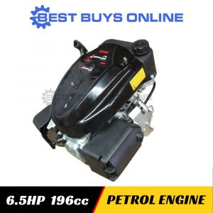 6.5 HP PUSH MOWER ENGINE VERTICAL SHAFT PETROL 4 STROKE 196cc Ride on Mower