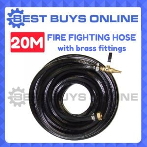 20M FIRE FIGHTING HOSE HIGH PRESSURE FOR Water Transfer Pump INC BRASS FITTINGS
