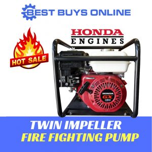 WATER TRANSFER PUMP Fire Fighting TWIN IMPELLER High Pressure HONDA ENGINE Best Buys on sale
