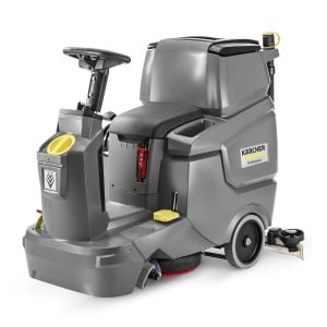 Karcher Hard floor cleaner Ride on floor scrubber dryer BD 50/70 R Bp Commercial Industrial, Large 2500 m²/h max area performance