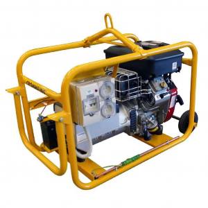Petrol Generator 8kw 16HP Electric Start Crommelins CG100BPEH with RCD Worksite