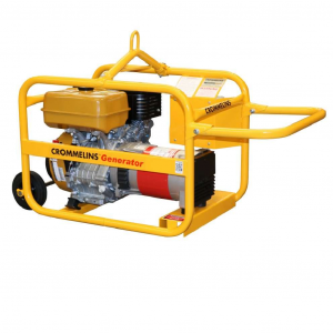 Petrol Generator 5kW 14HP Engine Recoil Start with RCD Wheels Worksite Hire Pack CG64RPH
