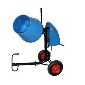 130 Litre Cement Mixer Portable Electric Powered