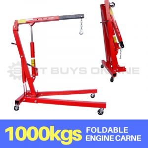 Engine Crane 1000 kg Folding Foldable Lifting Arm 1 Ton