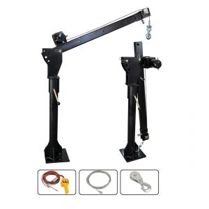 New Electric Hoist Engine Crane 360 degree 800 kg double rope lift