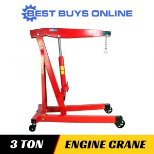 Engine Crane 3 Ton Non Folding 3000 kg Hoist Lift for UTE Workshop