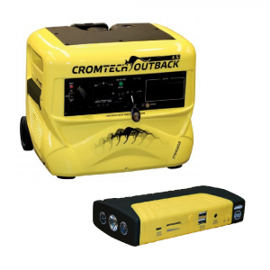 Inverter Generator Cromtech Outback 4.5kw Pure Sine Wave 6HP Electric Start CTG4500iE