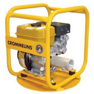 Drive Unit Crommelins DU60RP Petrol 6HP drive submersible flexible drive pumps & concrete vibrators