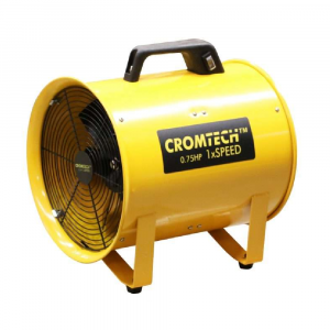 "Cromtech Ventilator 12"" 300mm 500W Metal HT30"