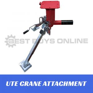 450kg SWIVEL LIFTING CRANE Tow Bar Attachment UTE Truck Trailer Hoist Lifter