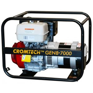 Cromtech Petrol Generator 8.5 kVA 13 HP Honda Engine GX390 Petrol powered