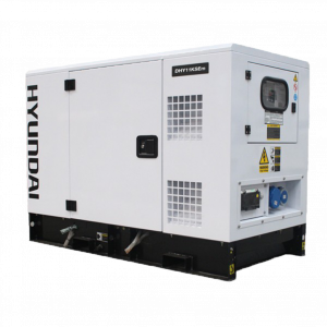 Diesel Generator 14kVA Quiet Hyundai Diesel Engine with AVR DHY11KSEM Single Phase Standby