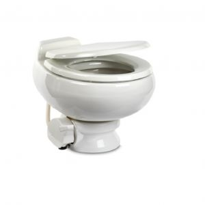 Dometic Toilet Gravity Flush RV Toilet 511 Quality Ceramic White for Boat Marine