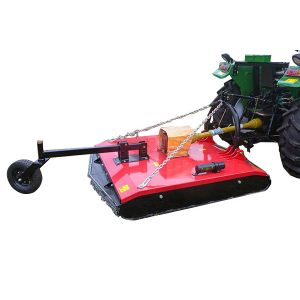 Tractor Slasher 4 FT Heavy Duty 1180 mm Cut with Slip Clutch, Single Wheel Kit