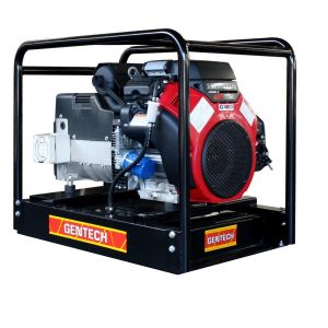 Honda Generator 16 kVA Portable 3 Phase Petrol Powered by Honda GX690 V-Twin Electric Start