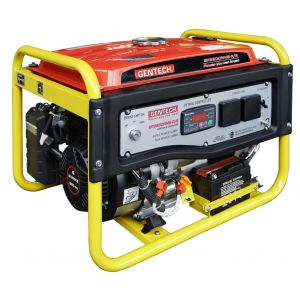 Petrol Generator Gentech 3.6 kVA Electric Start AVR with Remote Start EP3200RME-R/S