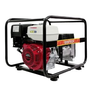 8kVA Portable Generator with Honda GX390 Gentech Petrol Power EP8000HSR