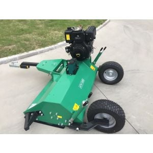 4 FT ATV FLAIL MOWER SELF PROPELLED Electric Start 13 HP