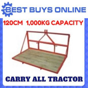 "CARRY ALL TRACTOR 4FT 120CM 3PL 3 POINT LINKAGE 1000KG CAPACITY ""Best Buys on sale"""