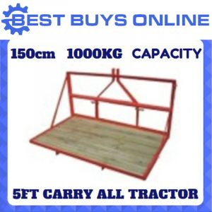 "CARRY ALL TRACTOR 5FT 1500mm 3 POINT LINKAGE 1000KG CAPACITY Carry Log Splitter ""Best Buys on sale"""