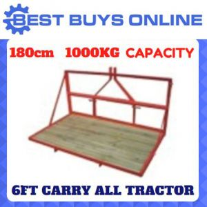 "CARRY ALL TRACTOR 6FT 180CM 3 POINT LINKAGE 1000KG CAPACITY ""Best Buys on sale"""
